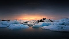 Jokulsarlon (FredConcha) Tags: fredconcha iceland ice jokulsarlon lagoon landscape sunset iceberg ligh nature cloud nikon d800
