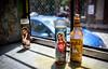 Virgin Holula (Franck_Michel) Tags: holula hot sauve mary virgin window glass bottle