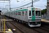 Kyoto Municipal Subway 1813, Kintetsu-Tambabashi (Howard_Pulling) Tags: japan rail railway zug bahn train trains trainsinjapan japanese howardpulling photo picture gare