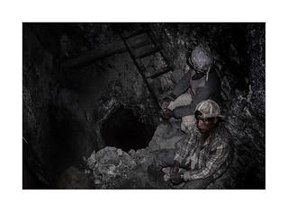 In the mine. ( Potosi )   1991
