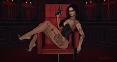 [dani] La Femme Fatale (Dani Bravin (Hawksy78 Resident)) Tags: amarabeauty azdesign bento clothing empire etoile foxcity hair izzies lelutka lingerie littlefish maai madpeaproductions maitreya mancave mesh moda nanika narcisse shoes spy stealthic storybook tattoo