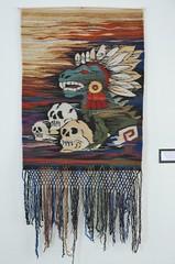 Tapete Zapotec Weaving Oaxaca Mexico (Teyacapan) Tags: oaxacan textiles weavings zapotec santaanadelvalle museum coyotepec meapo