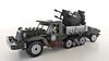 M-16 Half-track+trailer (John C. Lamarck) Tags: lego enlighten military wwii ww2 war m16 halftrack multiple gun motor carriage