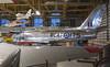 2017-09-12_13-38-01 RCAF Sabre (canavart) Tags: f86 cl13 sabre canadair northamerican hangarmuseum airplane jet aircraft tail shiny calgary alberta canada museum 23175