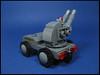 Heavy Gun Truck (Karf Oohlu) Tags: lego moc microscale gun selfpropelledgun guntruck truck mititary afv