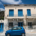 Blue Car & Blue Shutters - Andros, Greece