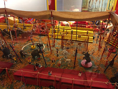 Circus in Minature (jadedirishgryphon) Tags: childrens museum circus