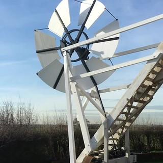 Wind power at Aythorpe Roding