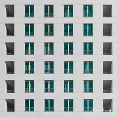 Bright Surface II (Alec Lux) Tags: antwerp antwerpen apartment architecture belgium block building city contrast design flat harbour minimal minimalism modern pattern structure urban white vlaanderen be