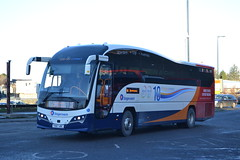 Stagecoach Bluebird 54827 YX67URC (Will Swain) Tags: elgin bus station 24th november 2017 buses transport travel uk britain vehicle vehicles county country scotland scottish north east town centre stagecoach bluebird 54827 yx67urc