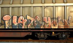 graffiti on freighttrains (wojofoto) Tags: amsterdam graffiti streetart freighttraingraffiti freighttrain fr8 vrachttrein cargotrain nederland netherland holland wojofoto wolfgangjosten iloveyou