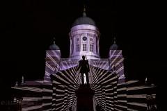 Art of light (Mika Laitinen) Tags: helsinki uusimaa finland fi luxhelsinki2018 tuomiokirkko suomi architecture church cityscape