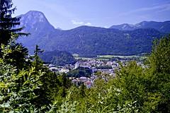 Kufstein (Jurek.P) Tags: austria tyrol landscape mountains city cityscape kufstein europe scan 35mm minoltadynax7000i jurekp mountainscape