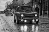 R8 (J-C Isabelle) Tags: blackandwhite bw nikon d5100 sigma 70200 28 french france voiture collection classic renault r8 épernay