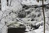 Deer Lake Creek (Kevin Tataryn) Tags: ice snow winter creek water flow longexposure nikon d500 1755 north quebec deerlake sundaylights