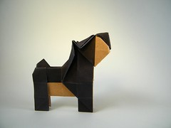 Simple Dog - Roman Petrenko (Rui.Roda) Tags: origami papiroflexia papierfalten cão cachorro perro chien simple dog roman petrenko
