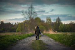 Lone path (photobypawelp) Tags: creative colours children child cute light photobypawelp portrait photography people pawelpentlinowski portaiture pretty polishphotographer poland moody magazine mood naturallight nikon nikond800 nationalgeographic cold explore expresion emotion editorial edit ambientlight art artphotography fineart