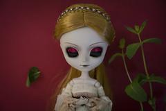 Red dreams (Erla Morgan) Tags: doll pullip pullipelisabeth elisabeth eleanora erlamorgan groove junplanning wig red green light vampire dreams white dead