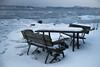 2018 Utemøbler på Kunglungen_.jpg (Sven LP) Tags: coast fjord ice landscape nordiclight outdoor weather winter akershus norway
