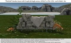 ".:Tm:. Creation ""TheWall"" Garden Scene with anims S21 (.:Tm:. Creation by Tm Susanowa) Tags: tmcreation tm creation"
