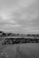 Yarmouth beach-56 (alanschererphotographer) Tags: capecod ocean beach harbor boats lighthouse clouds afternoon houses docks