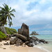 Beach Anse Royale one the island Mahe, Seychelles