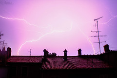 <3 (__nightmare__) Tags: love zadar timing majestic nature hard strong lights lighting storm croatia