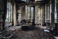 verdure3 (aurel_grand) Tags: urbex exploration urbaine château verdure creepy abandoned house dramatic sinistre sinister poupées puppets filter