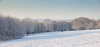 Snow covered trees and slopes panorama, Beautiful snowy cold winter day at University of Kent (Jim_Higham) Tags: universityofkent he higher education excellent european canterbury campus england english british britain christmas card calendar