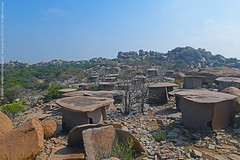 VALLEY OF THE DEAD (GOPAN G. NAIR [ GOPS Photography ]) Tags: hirebenakal hirebenkal gopsorg gops gopsphotography gopangnair gopan photography hampi anegundi dolmen burial ancient village human settlement megalithic necropolis karnataka site moryar gudda mane india