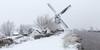 Kinderdijk this Winter. (Wim Boon (wimzilver)) Tags: wimboon unescoworldheritage snow windmill canoneos5dmarkiii canonef1635mmf4lisusm holland netherlands kinderdijkmills winter