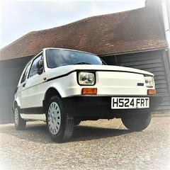 1991 Fiat 126 Bis (Pippi Takes A Trip...) Tags: white fiat 126 polish bis bianco maluch