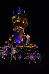 Tower (jasohill) Tags: castle blur hole color winter people rapunzel lights hook 2017 wise pan motiom life creepy jasmine night dream amusment city tangled aladdin tokyo evening chiba pirate wonderland captain disneyland dark shippeter tower rabbit colors park photography man japan pete disney