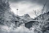 Swimming anyone? (brookis-photography) Tags: winter snow riessersee mountain huts