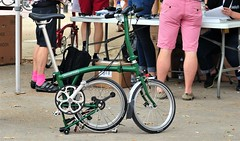 "The ""Brompton"" Foldaway Bike. (standhisround) Tags: bike bromptonbike london themall westminster uk england foldawaybike"