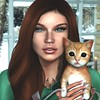 January 2018 (Arwen Clarity) Tags: secondlife second life 2life 2nd avi avitar mesh pose redhead ginger freckles green portrait orange tabby