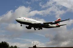 G-BYGC (FabioZ2) Tags: londra boeing atterraggio 747436 cn25823