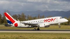 Embraer ERJ-170STD F-HBXI HOP! (William Musculus) Tags: airport spotting basel mulhouse freiburg euroairport eap bsl mlh lfsb fhbxi hop embraer erj170std erj170100