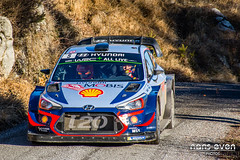 Hyundai i20 Coupe WRC - Hyundai Shell Mobis WRT - Thierry NEUVILLE / Nicolas GILSOUL - Monte Carlo 2018 (nans_even) Tags: wrc world rally championship rallye rallying race france monaco monte carlo montecarlo 2018 extérieur voiture de course véhicule automobile braus ancelle paca alpes maritimes hautesalpes nikon d7100 hyundai i20 coupe shell mobis wrt thierry neuville nicolas gilsoul