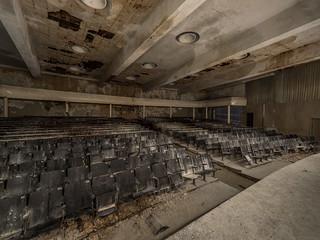 Abandoned nazi flight school