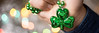 St Patricks Day (gemportjewellers) Tags: celebration lightingequipment clover beauty backgrounds preparation luck shape multicolored greencolor colors shiny irishculture cultures defocused republicofireland leaf day decoration stpatricksday partysocialevent necklace jewelry personalaccessory electriclamp fourleaf patrick patricks march fashionable