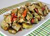 Carciofi trifolati con pomodori secchi (Le delizie di Patrizia) Tags: carciofi trifolati con pomodori secchi le delizie di patrizia ricette