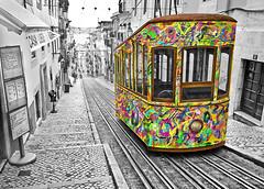 Lisbon tram #benheinephotography #tram #photography #lisbon (Ben Heine) Tags: benheinephotography photography composition light smartphone nature landscape beauty beautiful photo photographie art ifttt instagram benheine horizon benheineart