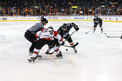 """Kansas City Mavericks vs. Cincinnati Cyclones, February 2, 2018, Silverstein Eye Centers Arena, Independence, Missouri.  Photo: © John Howe / Howe Creative Photography, all rights reserved 2018. • <a style=""""font-size:0.8em;"""" href=""""http://www.flickr.com/photos/134016632@N02/39219886625/"""" target=""""_blank"""">View on Flickr</a>"""