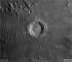 Copernicus Crater - January 26, 2018 (The Dark Side Observatory) Tags: tomwildoner night sky space outerspace skywatcher telescope esprit 120mm apo refractor celestron cgemdx asi190mc zwo astronomy astronomer science canon crater moon lunar weatherly pennsylvania observatory darksideobservatory leisurelyscientist leisurelyscientistcom tdsobservatory solarsystem copernicus january 2018