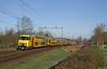 20180207 NSR 7201+1779, Castricum (Bert Hollander) Tags: castricum cas nsr ddm1 stam 7201 rijtuigen geel eloc zon ledig mat lm ns trein 89113amrhlm train