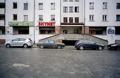 Terminator: it all started in Wrocław, Poland. (wojszyca) Tags: contax g2 zeiss biogon 21mm kodak vision3 50d c41 city urban streetview terminator skynet