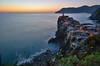 Sunset (Skiwalker79) Tags: vernazza liguria 5terre 5 terre cinqueterre italy italia landscape panorama paesaggio lonhexplosure nd1000 d5100 nikon