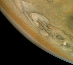 Jupiter's Stormy North (NASA's Marshall Space Flight Center) Tags: nasa marshall space flight center msfc jet propulsion laboratory jpl solar system juno jupiter planets