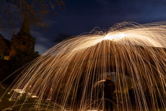 Steel Wool Rain (31/365) (Rachael Webster UK) Tags: project365 365project 365challenge canon canon650d 650d steelwoolphotography steelwool longexposure longexposurephotography portsunlight wirral cheshire merseyside fltofb
